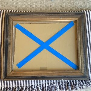 Wooden Frame with Glass
